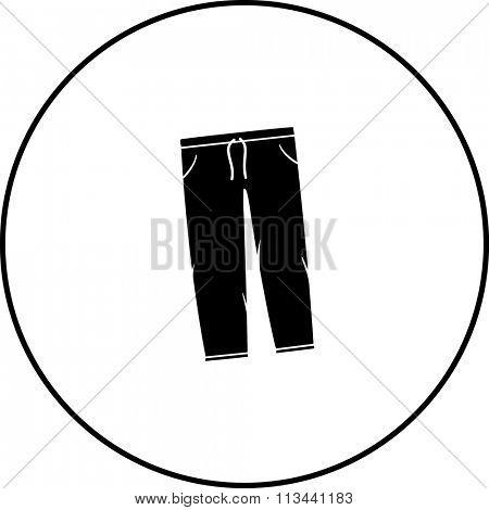 sweatpants symbol