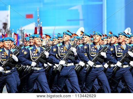 Ceremonial March Of The Troops