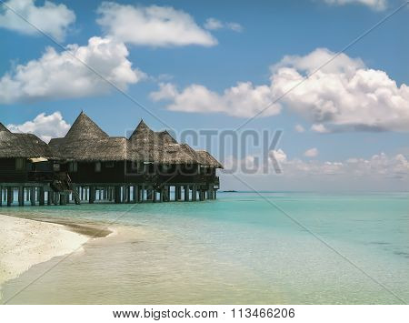 Maldives island Dhuni Kolhu