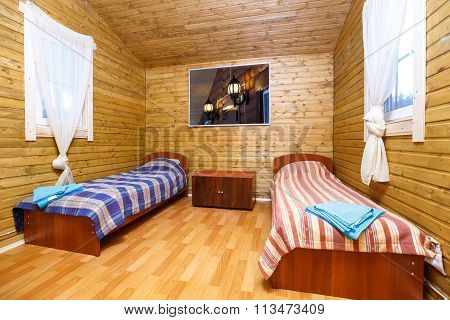 Interior Of Guest Room In Village House