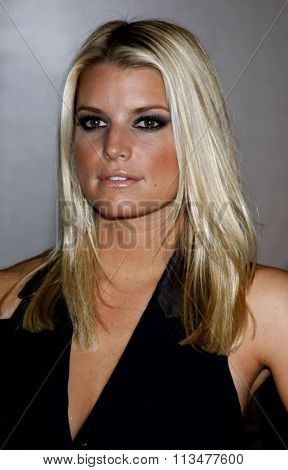 BEVERLY HILLS, CALIFORNIA - October 2, 2009. Jessica Simpson at the Operation Smile's 8th Annual Smile Gala held at the Beverly Hilton Hotel, Beverly Hills, Los Angeles.