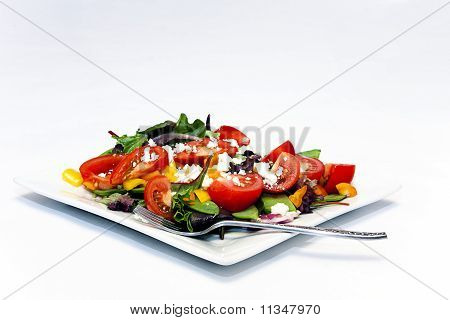 Garden Salad With Baby Greens