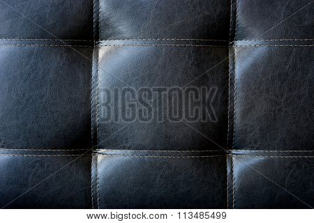 Silver Grey Leather Background ,texture