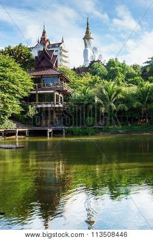 Beautiful Buddhist Place Of Worship In Phetchabun Thailand