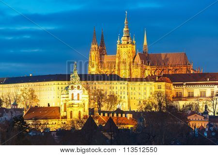 Prague Castle and Mala Strana, Czech Republic