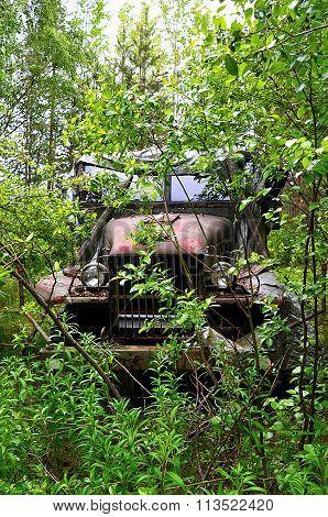 An Abandoned Car