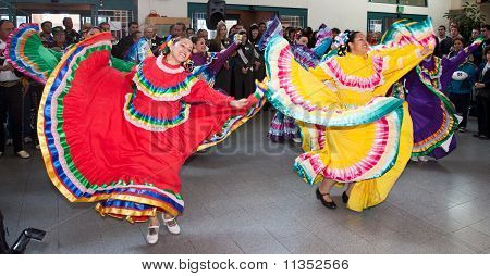 Mexican Folkloric Dancers