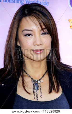 Ming-Na Wen at the Los Angeles premiere of