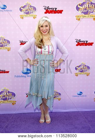 Ashley Eckstein at the Los Angeles premiere of