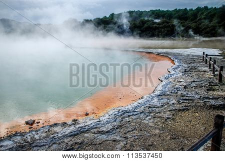 Waiotapu Thermal Wonderland, New Zealand