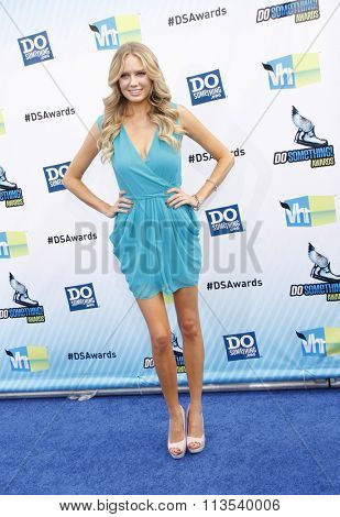 Melissa Ordway at the 2012 Do Something Awards held at the Barker Hangar in Los Angeles, USA on August 19, 2012.