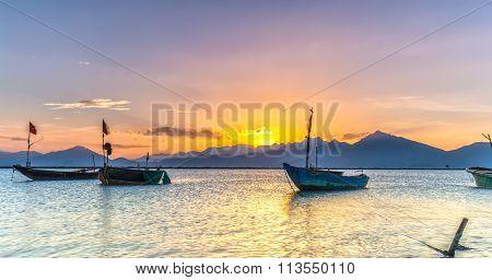 Sunset light Danang