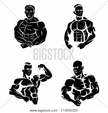 Tattoo Symbol Of Body Builder