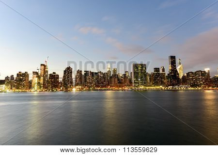 View Of New York City From Queens