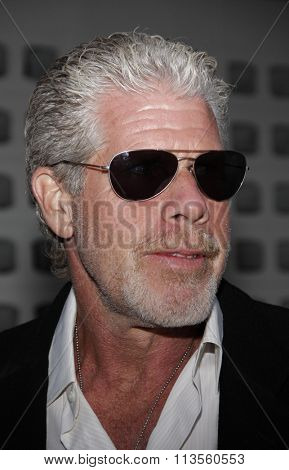 Ron Perlman at the