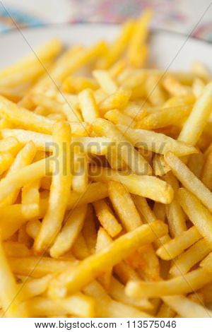 Photo of french fries crunchy and appetizing