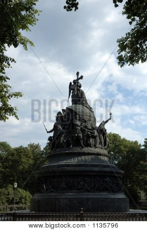 Monument To The Millennium Of Russia