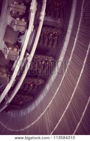 Stator In An Electric Motor