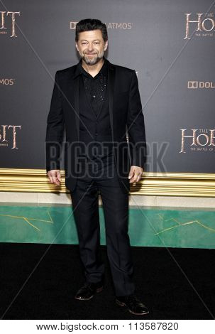 Andy Serkis at the Los Angeles premiere of