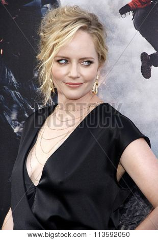 Marley Shelton at the Los Angeles premiere of