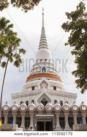 Pagoda At Wat Yan Temple.