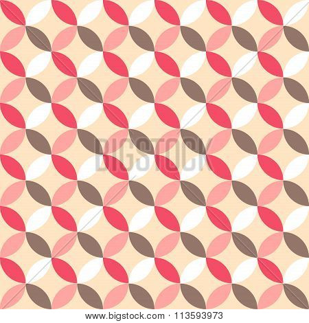 Cute Retro Abstract Seamless Pattern. Can Be Used For  Cover Fills, Web Page Background
