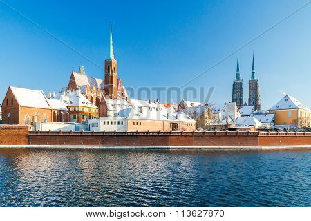 Wroclaw. Cathedral of St. John