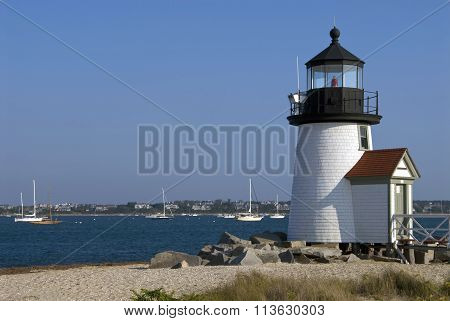 Most Popular Lighthouse On Nantucket Island