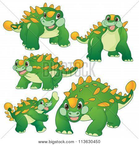 Cute Ankylosaurus
