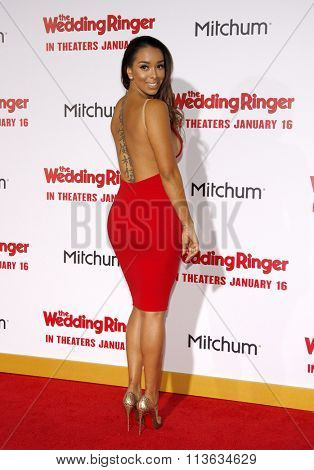 Gloria Govan at the Los Angeles premiere of