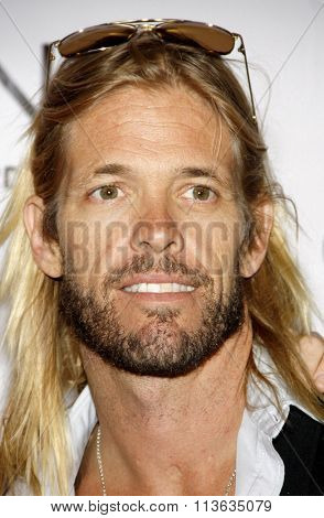 Taylor Hawkins of Foo Fighters at the Los Angeles Premiere of