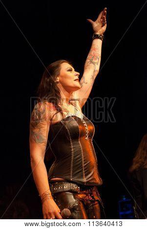 Nightwish live in Brisbane