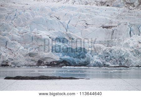 Glacier At Spitzbergen