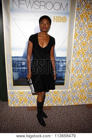 Adina Porter at the Los Angeles premiere of HBO's