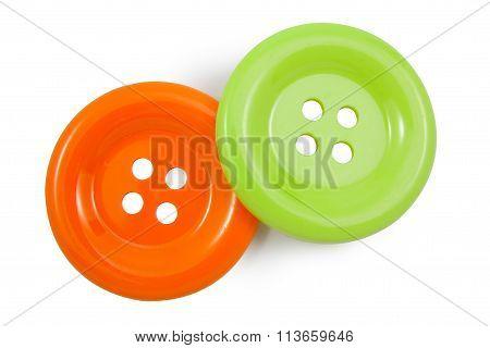 Green And Orange Clasper
