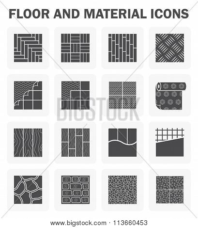 Floor Icons Sets.