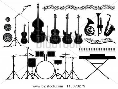 Set Musical Instruments