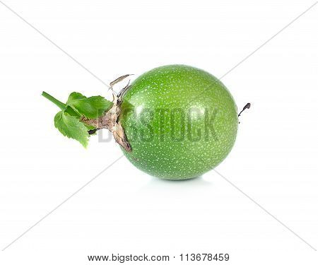 Passionfruit isolated on a white background