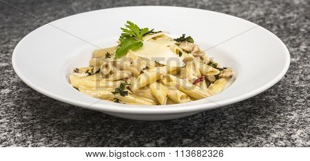 Plate With Pasta