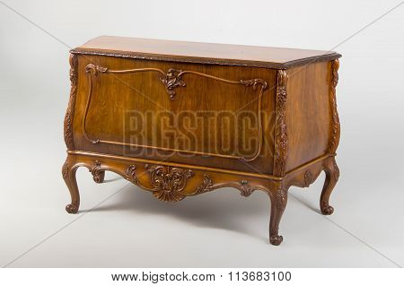 Chest Of Drawers, Neo-baroque Style Xx Century.