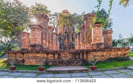 Beauty Po Nagar Cham tower architecture