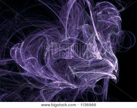abastraction misty violet background for design artworks poster
