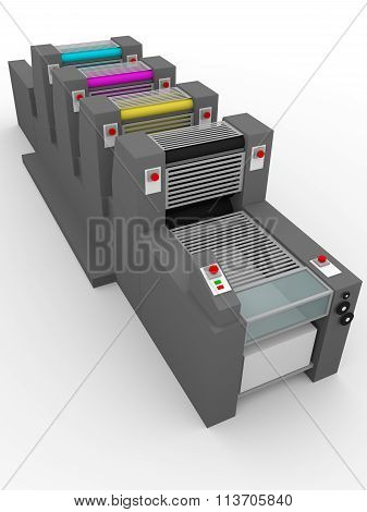 Industrial Printing Press