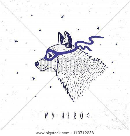 Husky my hero
