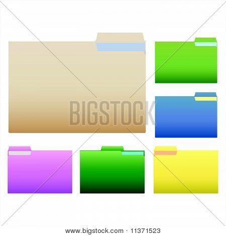 Carpetas colores