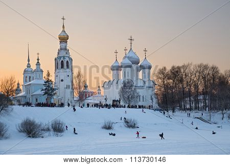Winter Fun In Vologda