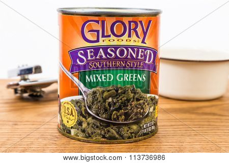Canned Soul Food - Mixed Greens