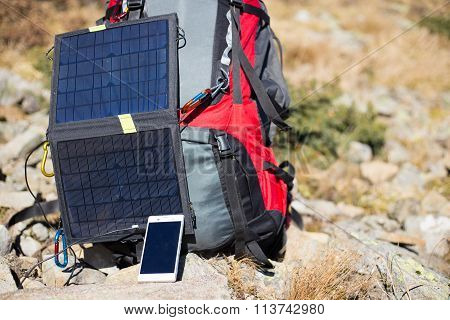 Solar panel .