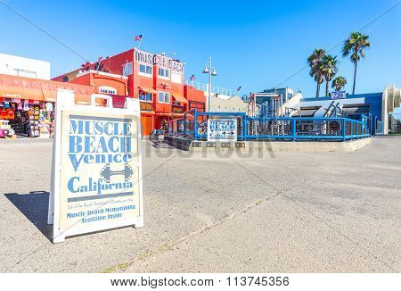 Muscle Beach In Venice Beach