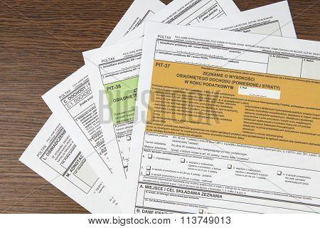 PIT declaration - tax declaration